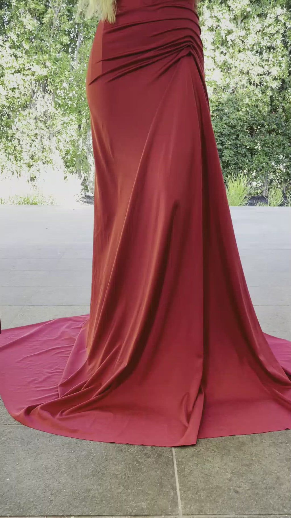 Portia & Scarlett Finola Gown PS21232 | Red Prom | Evening Gown Video