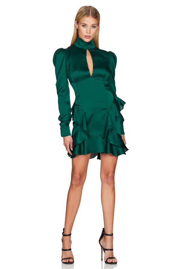 Nookie Ashton Long Sleeve Mini Dress