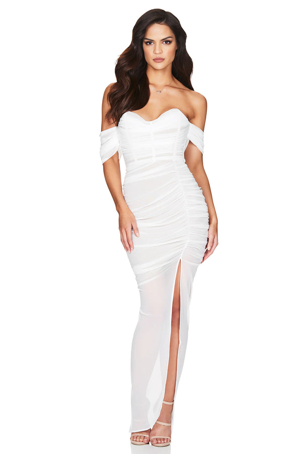Model Showcasing - Nookie Dita Mesh Gown