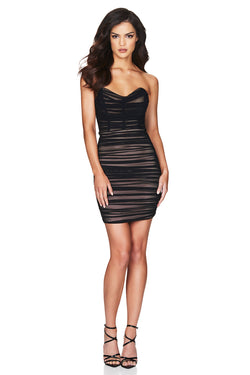 Nookie Dita Mesh Mini Dress