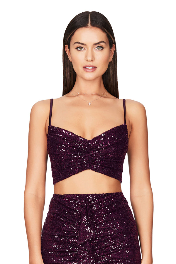 Nookie Galaxy Crop Top