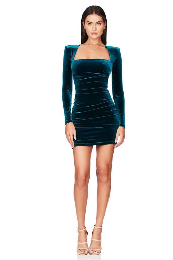 Mercury Long Sleeve Mini Dress