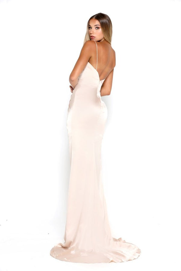 Satin Stephanie Gown