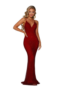 Model Showcasing - Portia & Scarlett Rouge Gown