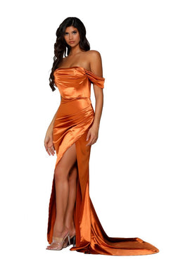 Model Showcasing - Portia & Scarlett Cece Gown