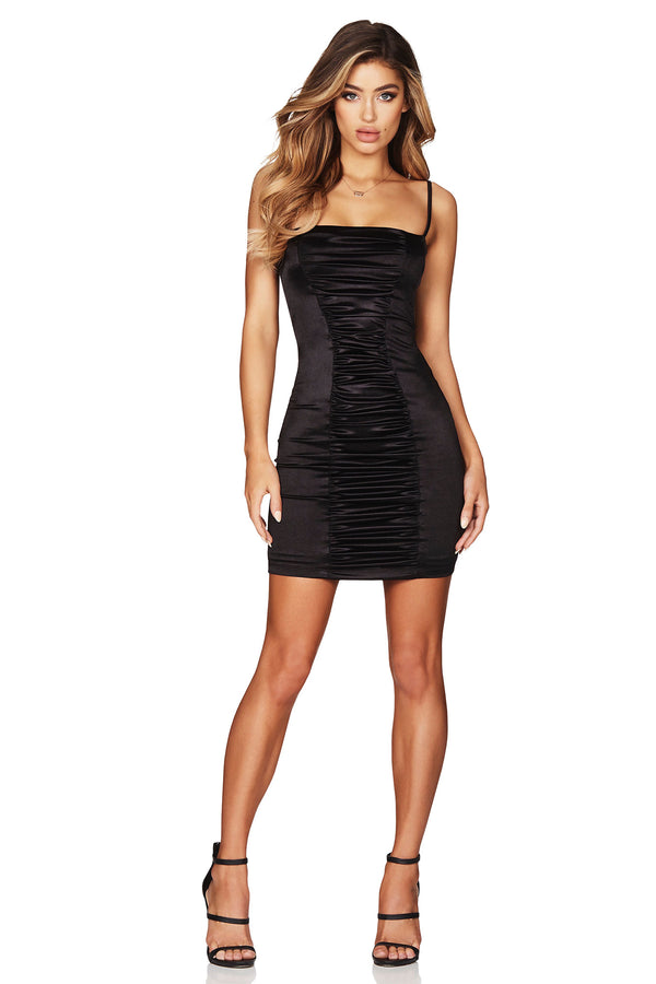 Nookie Tease Satin Mini Dress