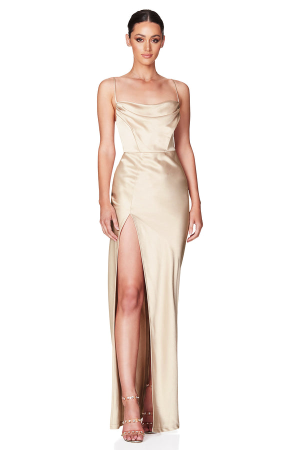 Dream Draped Gown