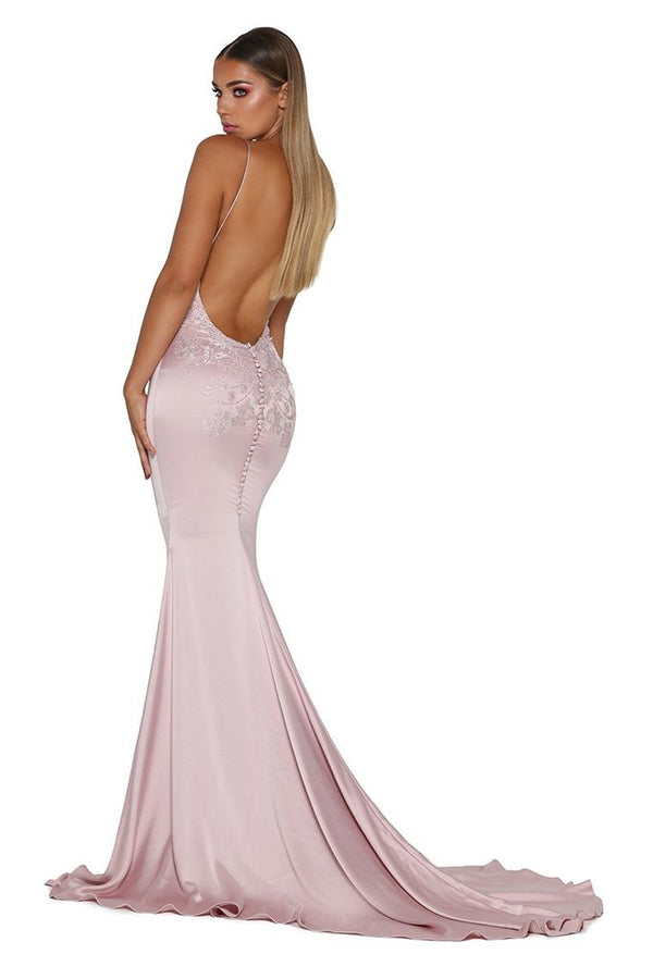 Model Showcasing - Portia & Scarlett Valentina Gown