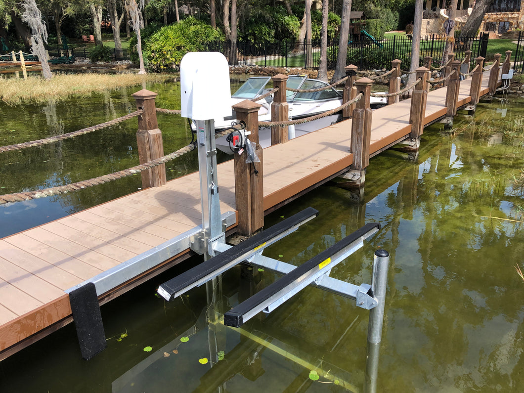 Electric Dock Mount Jet Ski Lift
