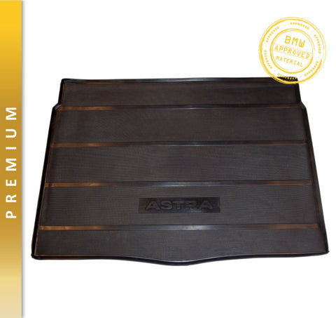 Genuine Hitech Vauxhall Astra Mk6 Hatchback/Sedan Premium Rubber Dog / Golf / Pets Boot Liner Mat 2009-2015