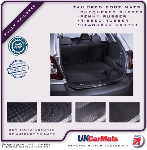 Genuine Hitech Audi A3 Hatchback 2003-2012 Carpet / Rubber Dog / Golf / Pets Boot Liner Mat
