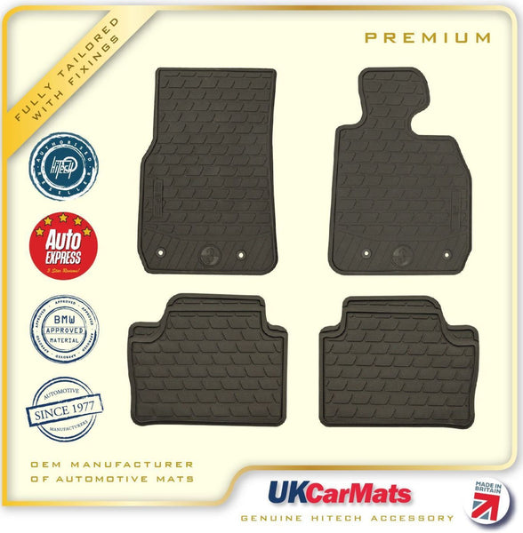 Genuine Hitech BMW 3 Series F30/F31 Tailored Premium TPE Rubber Car Mats 2012 onwards