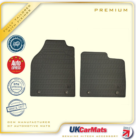 Genuine Hitech Ford Transit Connect Fully Tailored Premium TPE Rubber Car Van Mats 2002-2013