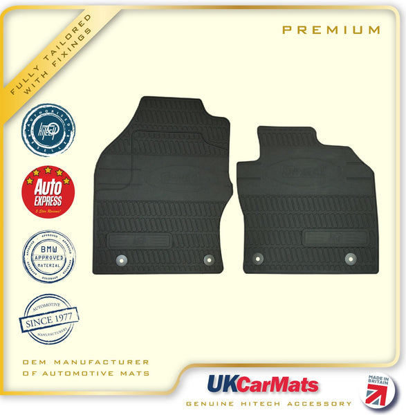 Genuine Hitech Ford Transit Connect Fully Tailored Premium TPE Rubber Car Van Mats 2013 onwards