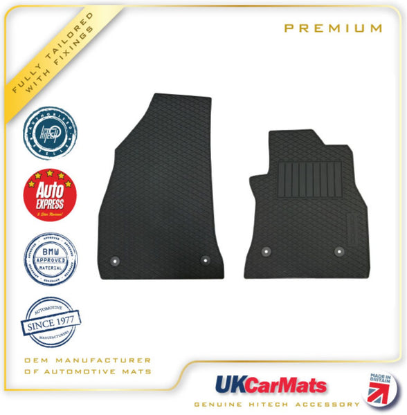 Genuine Hitech Vauxhall Combo Fully Tailored Premium TPE Rubber Car Mats 2011-2017