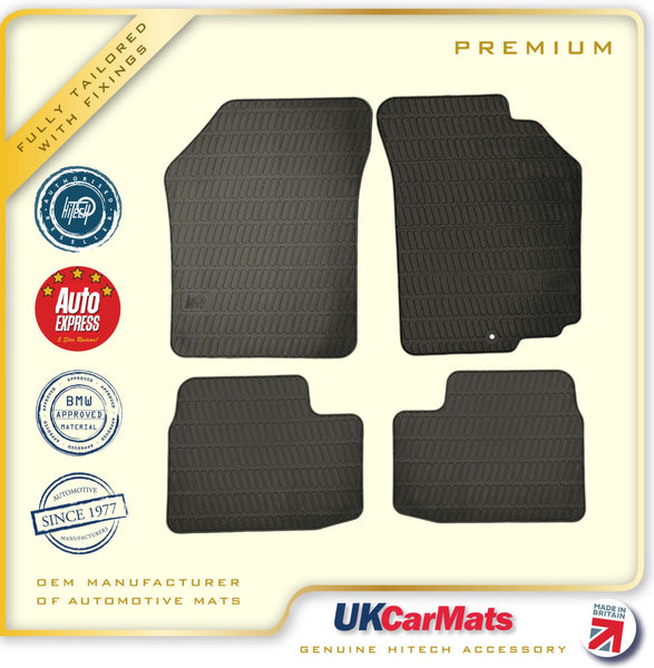 Genuine Hitech Suzuki Swift Fully Tailored Premium TPE Rubber Car Mats 2005-2010