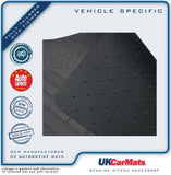 Genuine Hitech Toyota Hilux Double Cab 2005-2011 Tailored VS Rubber Car Mats