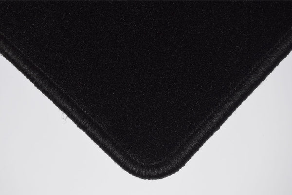 Genuine Hitech Mitsubishi Mirage 2013 onwards Black Tailored Carpet Car Mats