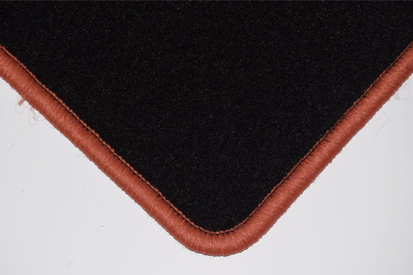 Genuine Hitech Seat Marbella / Terra 1988-1995 Black Tailored Carpet Car Mats