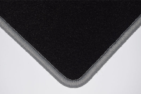 Genuine Hitech Mercedes C Class (W204) Coupe Manual 2011-2015 Black Tailored Carpet Car Mats