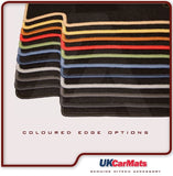 Genuine Hitech VW Golf Mk2 1983-1992 Black Luxury Velour Tailored Car Mats