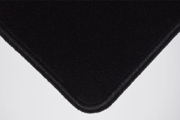 Genuine Hitech Ford Fiesta Mk1 / Fiesta Mk2 1976-1983 Black Luxury Velour Tailored Car Mats