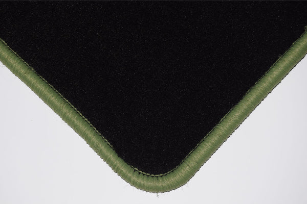 Genuine Hitech Mercedes 190 (W201) Saloon 1982-1993 Black Luxury Velour Tailored Car Mats