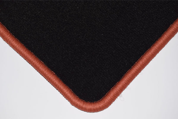 Genuine Hitech Subaru Legacy 1993-1999 Black Luxury Velour Tailored Car Mats