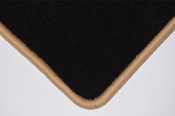 Genuine Hitech Toyota Verso-S 2011-2015 Black Luxury Velour Tailored Car Mats