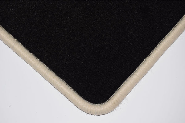 Genuine Hitech Subaru Justy 1987-1996 Black Luxury Velour Tailored Car Mats
