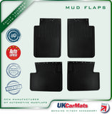 Genuine Hitech Mercedes Benz G-Wagen W463 Mudflaps 1990-2005 (Set of 4)