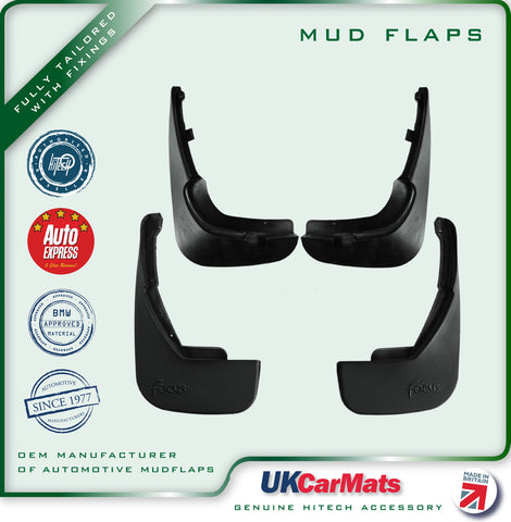 Genuine Hitech Ford Focus Mudflaps 1998-2001 (Hatchback)