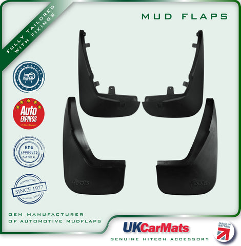Genuine Hitech Ford Focus Mudflaps 1998-2001 (Saloon)