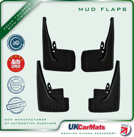 Genuine Hitech BMW 5 Series Estate E34 Mudflaps 1991-1998