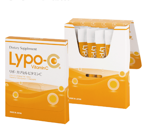 LYPO-C HIGH CONCENTRATION VITAMIN C / 高濃度ビタミンC (11 Packets / 11包入)