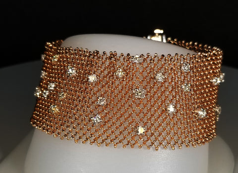EFFY Two Tone Gold and Diamond Bracelet
