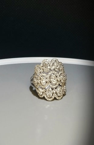 EFFY  White Gold and Diamond Fashion Ring