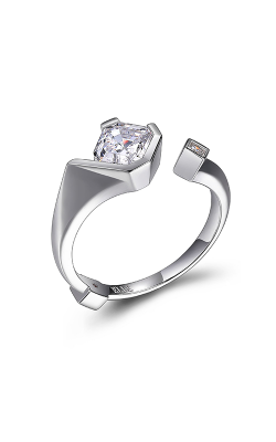 ELLE Promise Collection Sterling Silver and CZ Ring R10016WZ8
