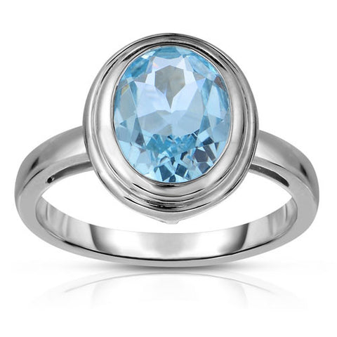 ring blue sky square in rings no sterling lyst john product metallic gold color batu hardy and topaz jewelry silver naga