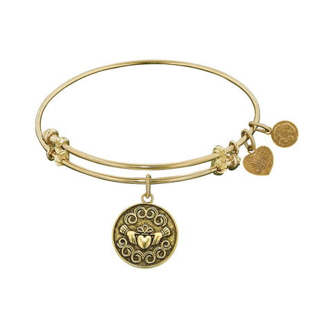 Angelica Claddagh Bangle GEL1141