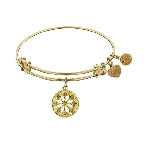 Angelica Daisy Flower Bangle GEL1204