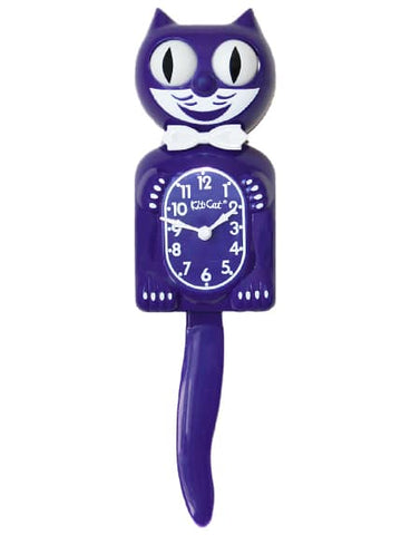 Ultra Violet Kit-Cat Klock (15.5″ high) AKA the Purple Panther