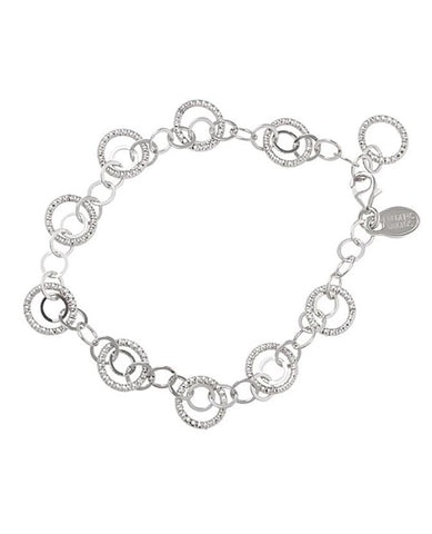 "Frederic Duclos Sterling Silver ""Kinship"" Bracelet"