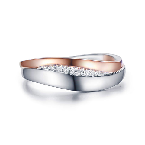 Bentelli Klassiek Two Tone Diamond Ring R2609