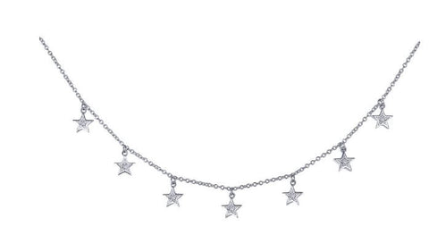 Lafonn 7 Symbols of Joy Choker Necklace  N0147CLP