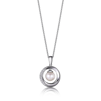 Elle Majestic Collection Necklace with freshwater pearl N0897