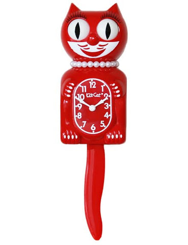 Scarlet Lady Limited Edition Kit-Cat Klock (15.5″ high)
