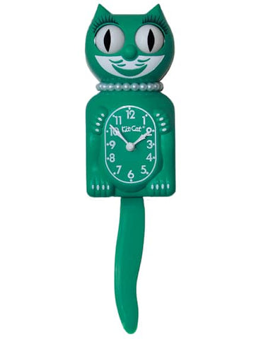 Kit Cat Klock Limited Edition Lady (Green Beauty) (15.5″ high)