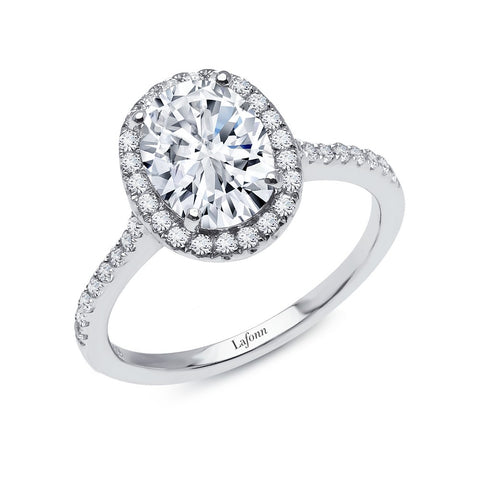 2.26 ct tw Halo Engagement Ring
