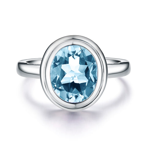 Bentelli Blue Topaz Ring